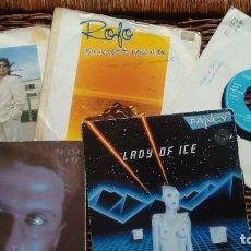 Discos de vinilo: LOTE DE 5 SINGLES DE ITALO DISCO AÑOS 80. Lote 122943267