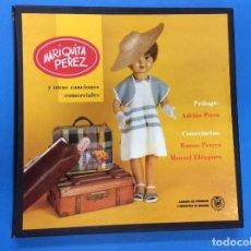 Discos de vinilo: MARIQUITA PÉREZ Y OTRAS CANCIONES COMERCIALES. BOX CON 2 VINILOS.. Lote 122948335
