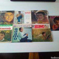 Discos de vinilo: LOTE DISCOS SINGLE ADAMO VINILO 45 RPM. Lote 122952284