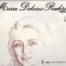 Discos de vinilo: MARIA DOLORES PRADERA - LP ZAFIRO REEDICION 1973. Lote 122958879