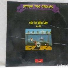 Discos de vinilo: 0535 STONE THE CROWS - ODE TO JOHN LAW - LP 1971 ROCK BLUES. Lote 122960611