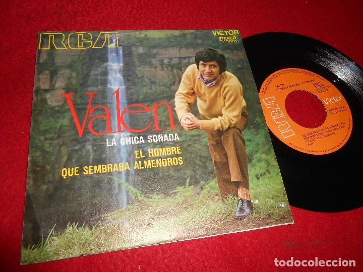 VALEN LA CHICA SOÑADA/QUE SEMBRABA ALMENDROS 7 SINGLE 1971 RCA RAFAEL FERRO (Música - Discos - Singles Vinilo - Solistas Españoles de los 50 y 60)