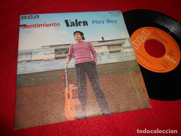 VALEN SENTIMIENTO/PLAY BOY 7 SINGLE 1972 RCA VICTOR RAFAEL FERRO EXCELENTE ESTADO (Música - Discos - Singles Vinilo - Solistas Españoles de los 50 y 60)