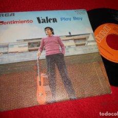 Discos de vinilo: VALEN SENTIMIENTO/PLAY BOY 7 SINGLE 1972 RCA VICTOR RAFAEL FERRO EXCELENTE ESTADO. Lote 122968075
