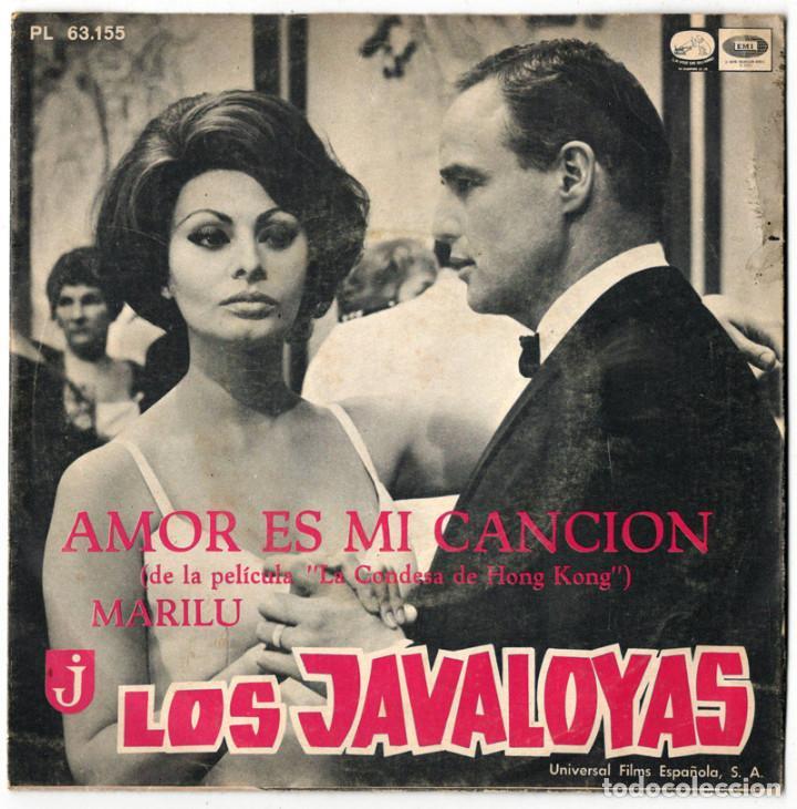 LOS JAVALOYAS - AMOR ES MI CANCION / MARILU - LA VOZ DE SU AMO 1967 (Música - Discos - Singles Vinilo - Grupos Españoles 50 y 60)