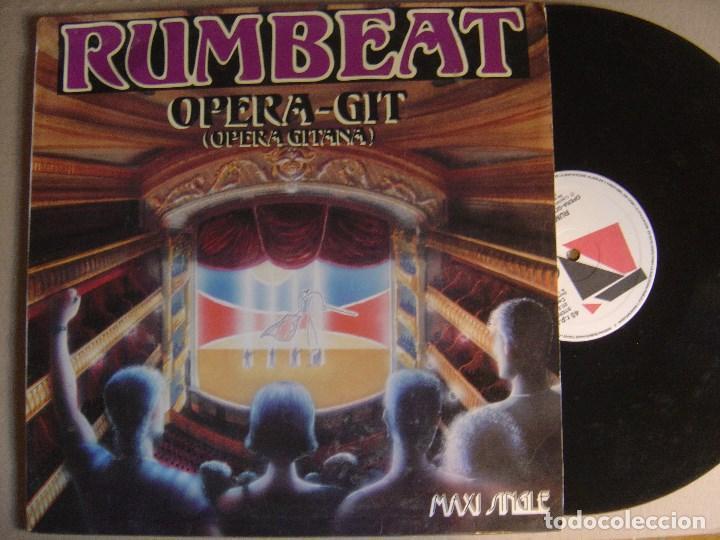RUMBEAT - OPERA GITANA - MAXI SINGLE 1992 - PDI (Música - Discos de Vinilo - Maxi Singles - Grupos Españoles de los 90 a la actualidad)
