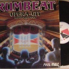 Discos de vinilo: RUMBEAT - OPERA GITANA - MAXI SINGLE 1992 - PDI. Lote 122990475