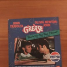 Discos de vinilo: JOHN TRAVOLTA OLIVIA NEWTON JOHN GREASE SINGLE. Lote 123000523