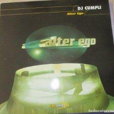 Discos de vinilo: DJ CUMPLI - ALTER EGO - MAXI 1999. Lote 123008599