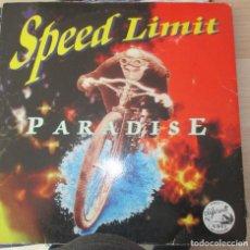 Discos de vinilo: MSPEED LIMIT ?– PARADISE - MAXI 1997. Lote 123008727