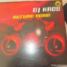 Discos de vinilo: DJ KAOS ?– AUTUMN AGAIN - MAXI 2002. Lote 123009087