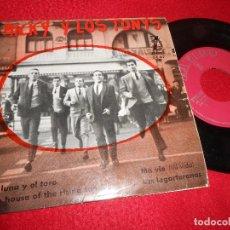 Discos de vinilo: MICKY Y LOS TONYS LA LUNA Y EL TORO/MA VIE/THE HOUSE OF THE RISING SUN +1 EP 1964 ZAFIRO 4 CANCIONES. Lote 123011103