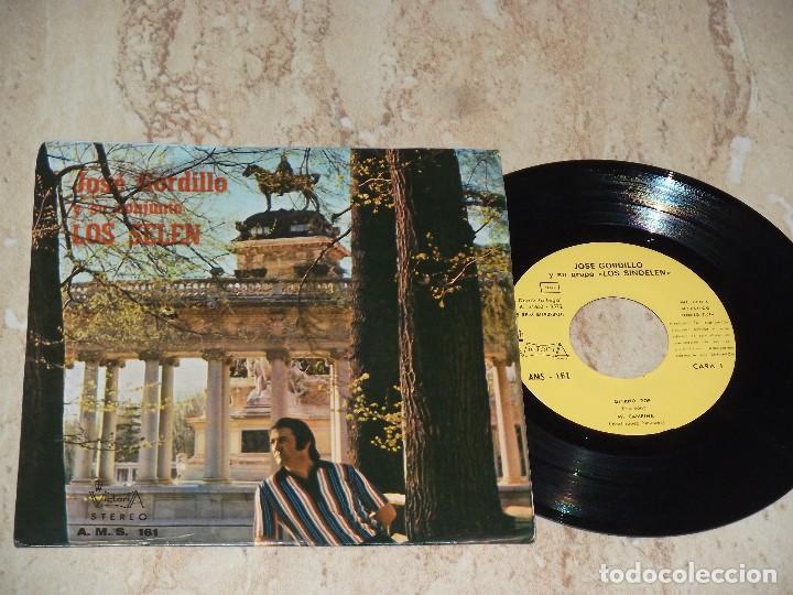 JOSE GORDILLO Y SU CONJUNTO LOS SELEN - GITANO POP (FLAMENCO PROGRESIVO)+3- EP VICTORIA 1972 (Música - Discos de Vinilo - EPs - Grupos Españoles de los 70 y 80)