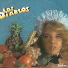 Discos de vinilo: LOS DIABLOS - FRUTA FRESCA - LP - BELTER 1980 SPAIN. Lote 123022071