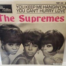 Discos de vinilo: EP - THE SUPREMES - TAMLA MOTOWN TMEF 536 - 1966 - FRANCIA - EN PERFECTO ESTADO. Lote 123026311