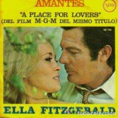 Discos de vinilo: AMANTES (SINGLE 1969) ELLA FITZGERALD - BSO AMANTI - VITTORIO DE SICA - MARCELLO MASTROIANNI - VERVE. Lote 123041367
