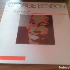 Discos de vinilo: GEORGE BENSON. THE BEST. CON FIRMA POSTERIOR CON DEDICATORIA. BUEN ESTADO. . Lote 123051115
