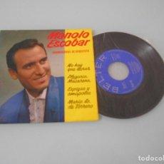 Discos de vinilo: MANOLO ESCOBAR .- EP 1962 - NO QUE LLORAR + 3. Lote 123051919