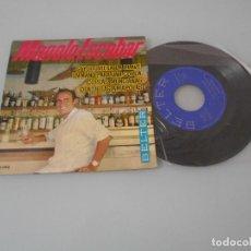 Discos de vinilo: MANOLO ESCOBAR - EP 1964 - SI YO TUVIERA LA LLAVE + 3. Lote 123052571