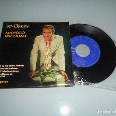 Discos de vinilo: MANOLO ESCOBAR .- EP 1972 - SI YO ME LLAMO MANOLO + 3. Lote 123052919