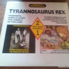 Discos de vinilo: TYRANNOSAURUS REX. THAT´S ORIGINAL. DOBLE VINILO. BUEN ESTADO. RARO. Lote 123053107