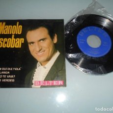 Discos de vinilo: MANOLO ESCOBAR - EP 1964 - BODA BLANCA + 3. Lote 123053267