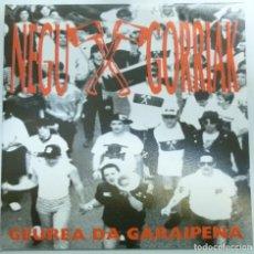 Discos de vinilo: NEGU GORRIAK SINGLE GEUREA DA GARAIPENA AÑO 91 ESAN OZENKI ROCK VASCO MUY BUEN ESTADO CASI NUEVO. Lote 123053963