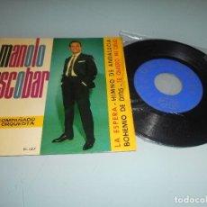 Discos de vinilo: *.- MANOLO ESCOBAR - EP -1964 - LA ESPERA + 3. Lote 123054211