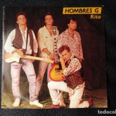Discos de vinilo: HOMBRES G SG TWINS 1990 RITA / VOY A HABLAR CON EL. Lote 123054475