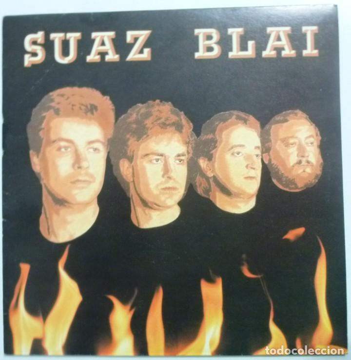 SUAZ BLAI SINGLE JAIETAN GAUDE AÑO 90 HILARGI RECORDS ROCK VASCO MUY BUEN ESTADO CASI NUEVO (Música - Discos - Singles Vinilo - Punk - Hard Core)