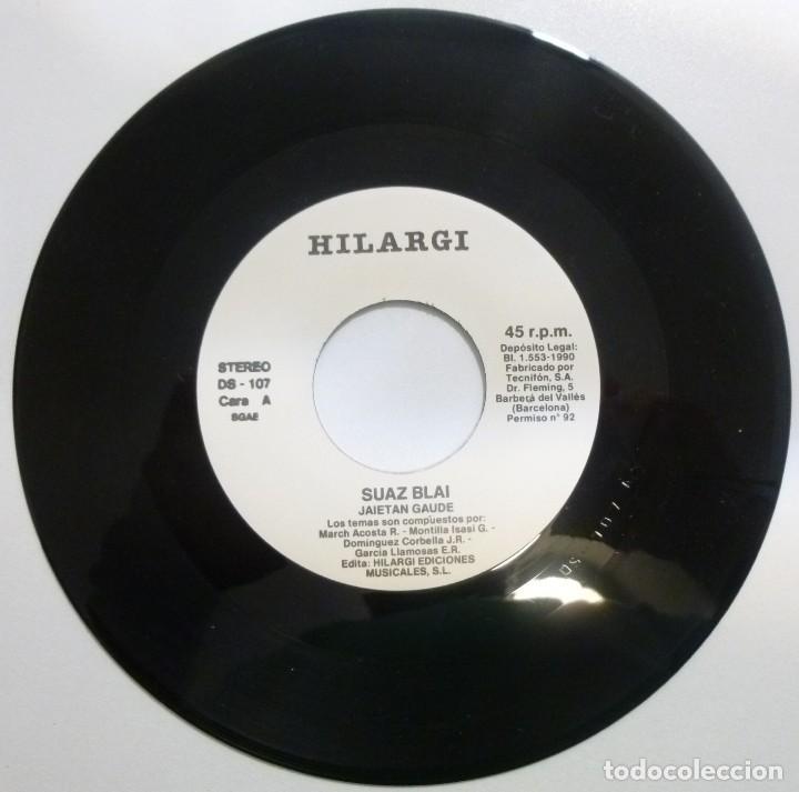 Discos de vinilo: Suaz blai Single Jaietan gaude año 90 Hilargi records Rock Vasco Muy buen estado casi nuevo - Foto 3 - 123054707