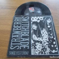 Discos de vinilo: STRAWBERRY SWITCHBLADE, SINCE YESTERDAY, BY THE SEA. Lote 123055847