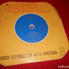 Discos de vinil: KARINA & PEKENIKES CORAZON / DILE 7 SINGLE 1964 FLEXIDISC FLEXI RARO. Lote 123072767