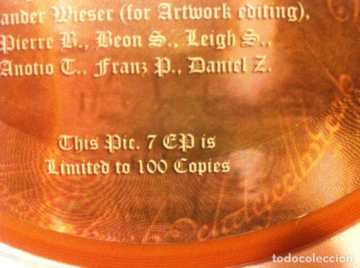 Discos de vinilo: Noldor - Menegroth/Luthien (Brown) - EP Autoedición limitada 100 copias. Edición alemana 2013 - Foto 3 - 123082631