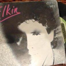 Discos de vinilo: SINGLE (VINILO) DE ELKIN AÑOS 80. Lote 123105047