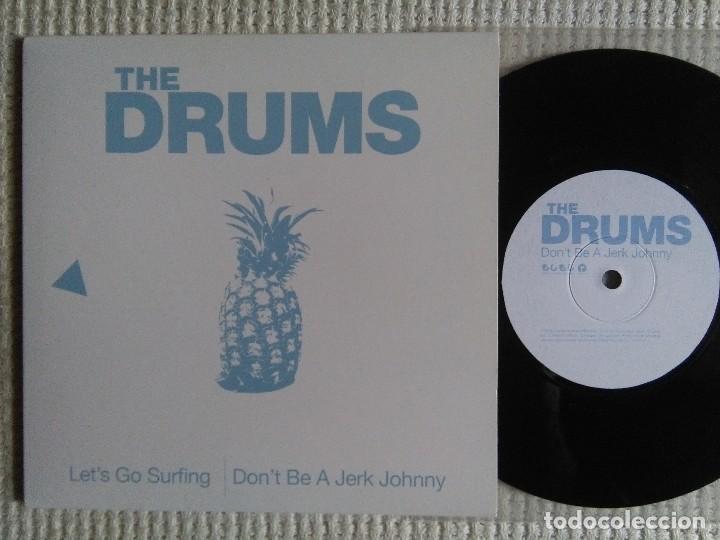 Usado, THE DRUMS - '' LET'S GO SURFING / DON'T BE A JERK... '' SINGLE 7'' 2010 UK segunda mano