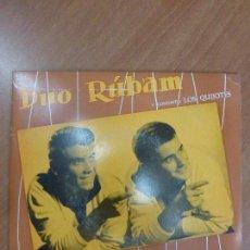 Discos de vinilo: DÚO RÚBAM – MOVIMIENTO DE ROCK / Y QUIEN? / BLUE JEANS ROCK / SAEFES - SAP-55032 - ESPAÑA 1961. Lote 123115751