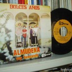 Discos de vinilo: DULCES AÑOS SINGLE ALMUDENA GUITARRA PEKENIKES MINT-/EX 1970 SPAIN. Lote 123133791