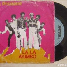 Discos de vinilo: MR. PRESIDENT - LA LA AKIMBO + DO IT - SINGLE ESPAÑOL 1979 - SATRIL. Lote 123152495