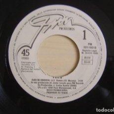 Discos de vinilo: IVAN - OJOS DE ORIENTAL - SINGLE PROMOCIONAL 1988 - PM. Lote 123163531