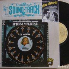 Discos de vinilo: VARIOS - THE BOYFRIEND OST - TWIGGY - LP 1982 - EMI. Lote 123168071