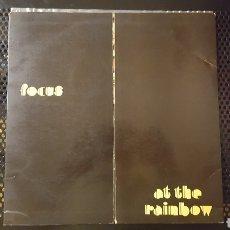Discos de vinilo: L.P. - FOCUS - AT THE RAINBOW - POLYDOR 1973 - PORTADA ABIERTA. Lote 123201440