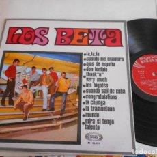Discos de vinilo: LOS BETA-LP LOS BETA-1968. Lote 123205895