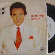 Discos de vinilo: JOSE JOSE - CUANDO VAYAS CONMIGO + LO DUDO - SINGLE PROMOCIONAL 1983 - ARIOLA. Lote 123206947