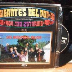 Discos de vinilo: LOS HUESPEDES FELICES SE QUE HAY ALGO MAGICO + 3 EP SPAIN 1996 PEPETO TOP . Lote 123211659
