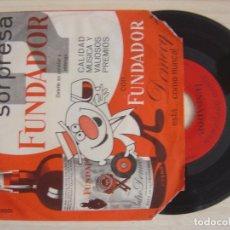 Discos de vinilo: LOS H.H. - CANCIONES PARA BAILAR - SINGLE FUNDADOR 1965. Lote 123217767