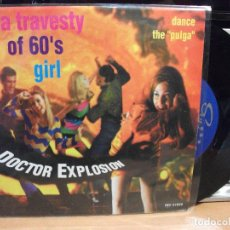 Discos de vinilo: DOCTOR EXPLOSION LA PULGA SINGLE SPAIN 1998 PEPETO TOP . Lote 123220335