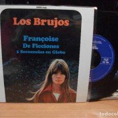 Discos de vinilo: LOS BRUJOS FRANÇOISE + 2 EP SPAIN 1996 PEPETO TOP . Lote 123226191