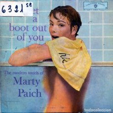 Discos de vinil: MARTY PAICH & THE MODERN TOUCH THEREOF ( I GET A BOOT OUT OF YOU) EP 1962. Lote 123237887