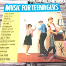 Discos de vinilo: MUSIC FOR TEENAGERS LP BELTER ATLANTIC RNR R&B RUTH BROWN THE COASTERS LAVERN BAKER. Lote 123254530